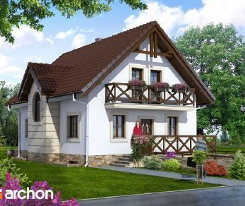Проект  Дом в ракитнике, 198.4 м2