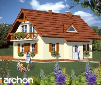Проект  Дом на горке, 156 м2