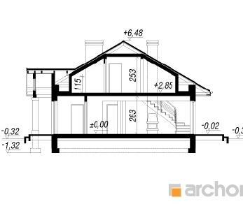 Проект  Дом под красной рябиной (ПД), 151.7 м2