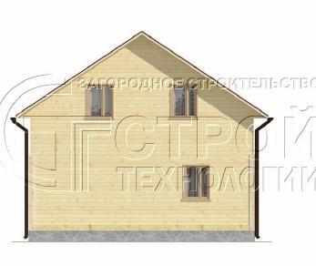 Проект дома Проект дома №7, 67.5 м2