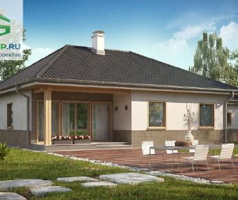 Проект дома Проект z24gl, 141.1 м2