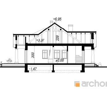 Проект  Дом под осиной, 207 м2