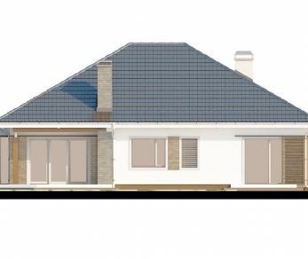 Проект дома Проект Z205, 159.3 м2