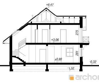 Проект  Дом в зорьках 3, 195.8 м2