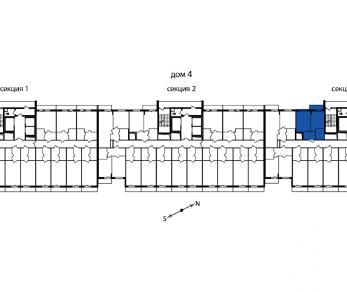Продажа квартиры пос. Мурино, Охтинская аллея, д. 16