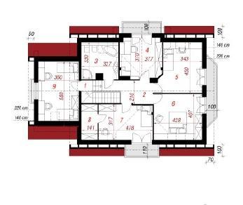 Проект  Дом в левкоях 2, 192.3 м2