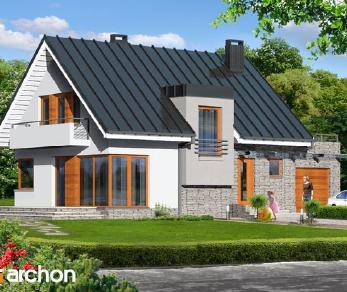 Проект  Дом в амариллисах, 139.1 м2