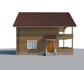 Проект дома AS-2097, 61 м2