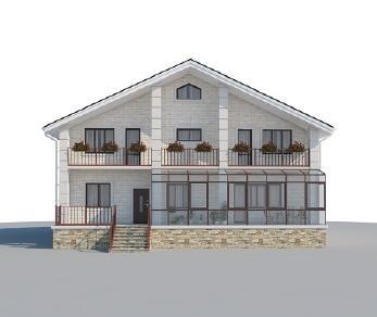 Проект дома AS-2200, 521 м2