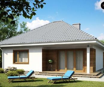 Проект дома Проект Z64, 83.8 м2