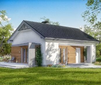 Проект дома Проект z255, 100.6 м2