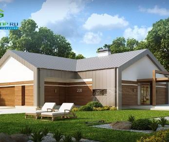 Проект дома Проект z208, 154.5 м2