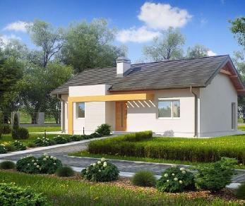 Проект дома Проект z249, 77 м2