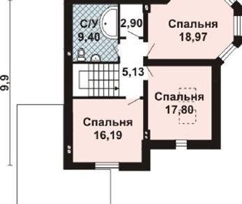 Проект дома AS-2225, 199 м2