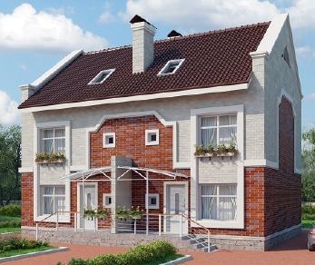 Проект дома AS-2108, 306 м2