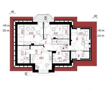 Проект  Дом под белой акацией (Г), 135.9 м2