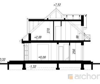 Проект  Дом в далиях 2, 149.4 м2