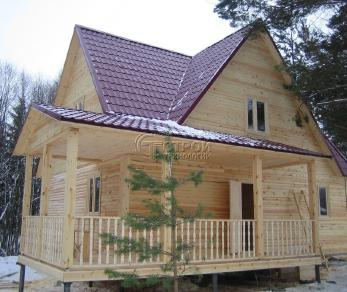 Проект дома Проект дома №3, 63 м2