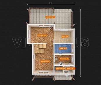 Проект  Дом АГОРА, 160 м2
