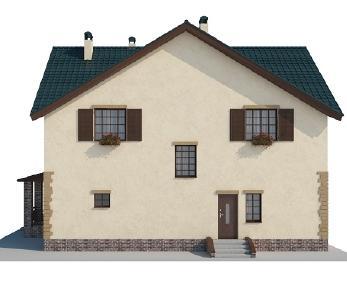 Проект дома AS-2003, 215.98 м2