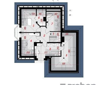 Проект  Дом в рукколе  (Г2), 166.28 м2