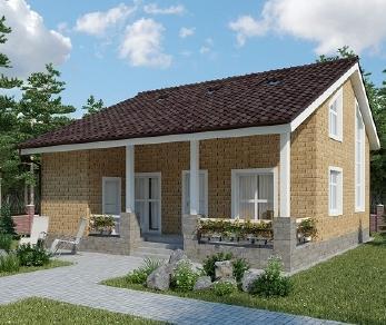 Проект дома AS-2059-2, 150 м2