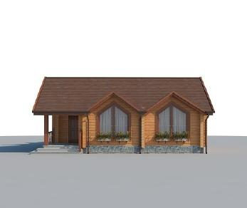 Проект дома AS-2224, 75 м2