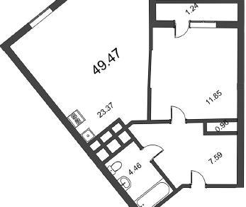 Продажа квартиры Колпино, Понтонная ул., д.6