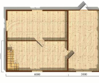 Проект дома Проект дома №60, 54 м2