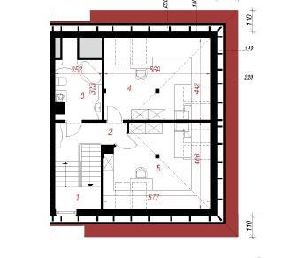 Проект  Дом в саговниках 2, 185.8 м2