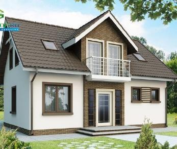 Проект дома Проект z13, 143.4 м2