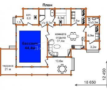 Проект дома Проект БН-183, 163.5 м2
