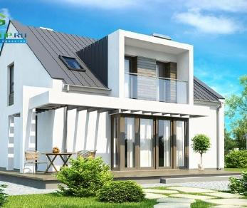 Проект дома Проект zx44, 179.5 м2