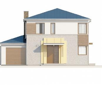 Проект дома Проект Zx47, 133.6 м2