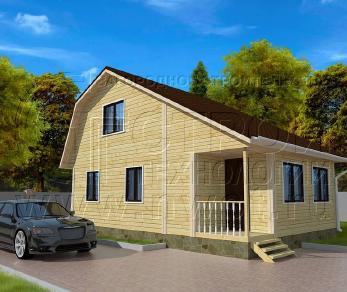 Проект дома Проект дома №74, 54 м2