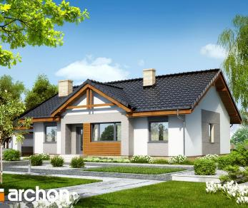 Проект  Дом в акебиях 4, 129.43 м2