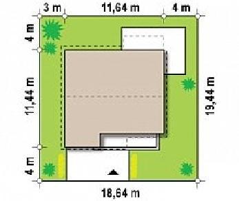 Проект дома Проект Z148, 192.7 м2