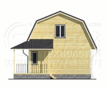 Проект дома Проект дома №73, 45.7 м2