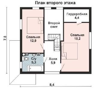Проект дома AS-2227, 102 м2