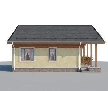 Проект дома AS-2214, 77 м2