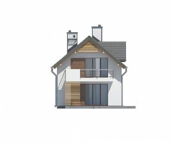 Проект дома Проект Z293, 153.9 м2
