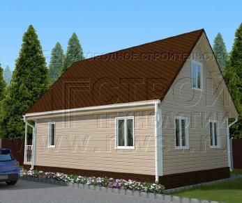 Проект дома Проект дома №91, 50 м2