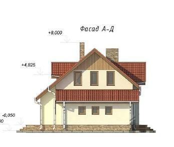Проект  Даниэла 3, 134 м2