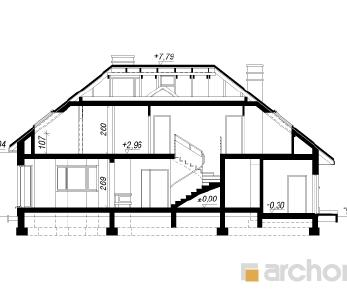 Проект  Дом в каллатеях 3, 234.1 м2