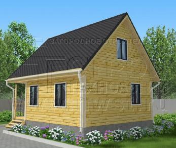 Проект дома Проект дома №78, 42 м2