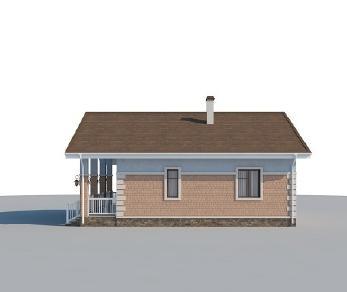 Проект дома AS-2205, 88 м2