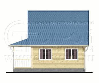 Проект дома Проект дома №59, 48 м2