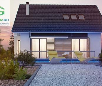 Проект дома Проект z304, 148 м2