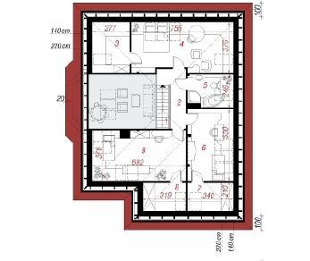 Проект  Дом в маракуйи, 181.3 м2