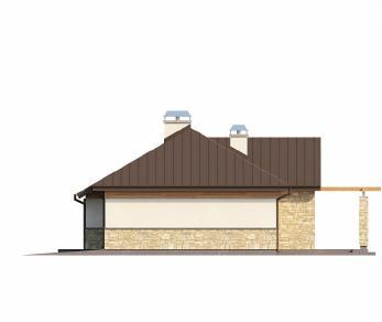 Проект дома Проект Z151, 109 м2